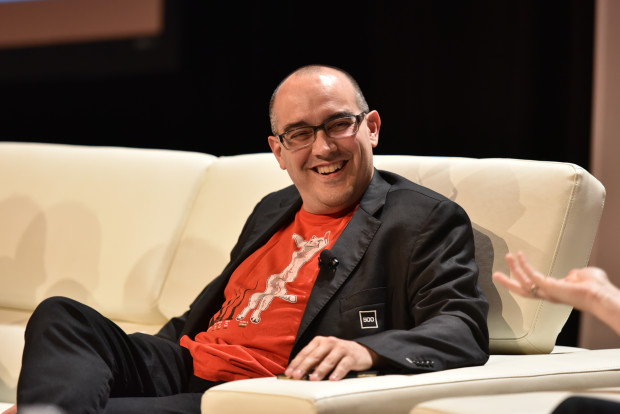 Dave McClure at the GeekWire Summit.