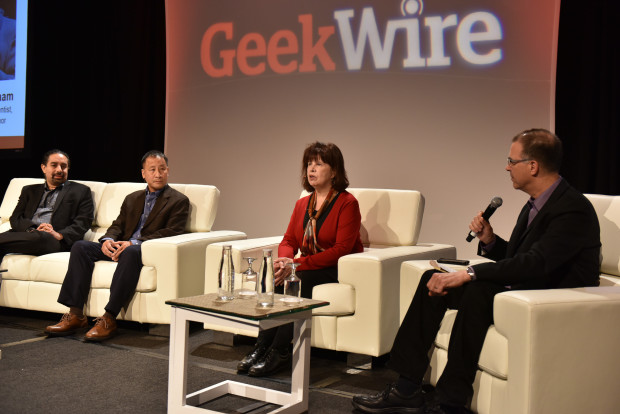 Science Fiction panel - GeekWire Summit 2015