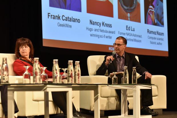 Frank Catalano & Nancy Kress - GeekWire Summit 2015