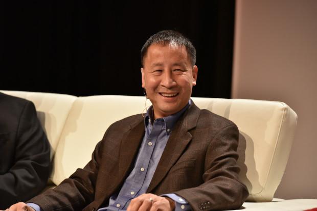 Ed Lu at the GeekWire Summit