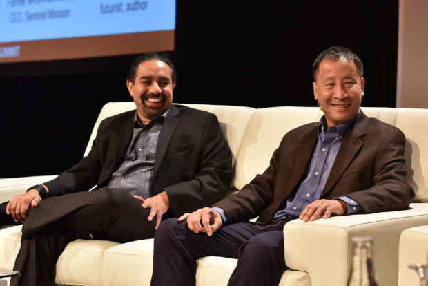 Ramez Naam and Ed Lu talk science fiction and the future.