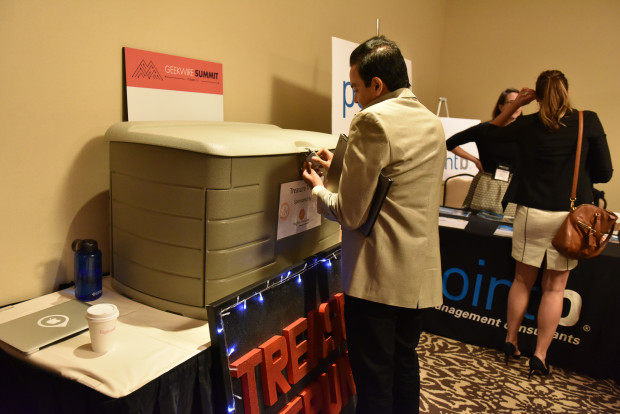 Treasure Trunk - GeekWire Summit 2015