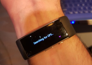 The redesigned Microsoft Band seems to still have issues picking up a GPS signal.