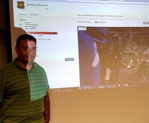 Sim Larkin, leader of the U.S. Forest Service's Pacific Wildland Fire Sciences Lab's AirFire team in Seattle.