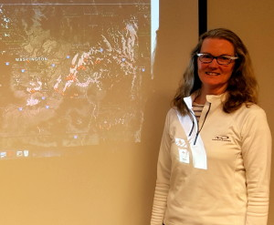 Janice Peterson, an air resource specialist for the U.S. Forest Service in Seattle.