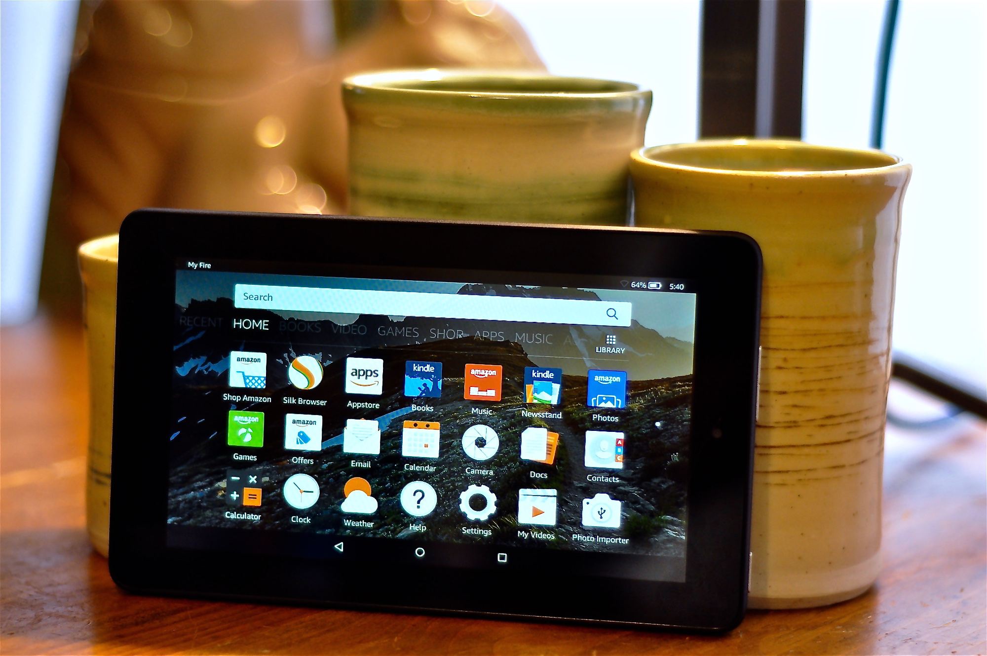 Testing Amazon S 50 Fire Tablet Here S What To Expect From This Budget Device Geekwire