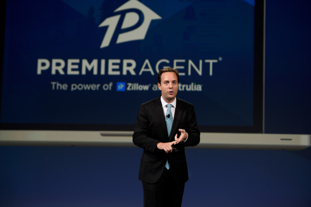 Zillow Group CEO Spencer Rascoff speaks at the Premier Agent Forum
