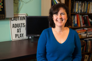 Professor Diane Cook is leading the smart home project being developed by Washington State University's Center for Advanced Studies in Adaptive Systems (CASAS). Photo: WSU.