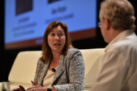 Lori Garver at GeekWire Summit.