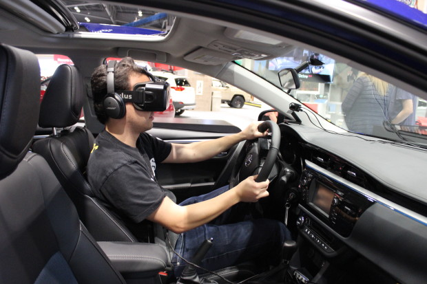 Connected Cars And VR Headsets Technology Is Everywhere At The - Seattle car show