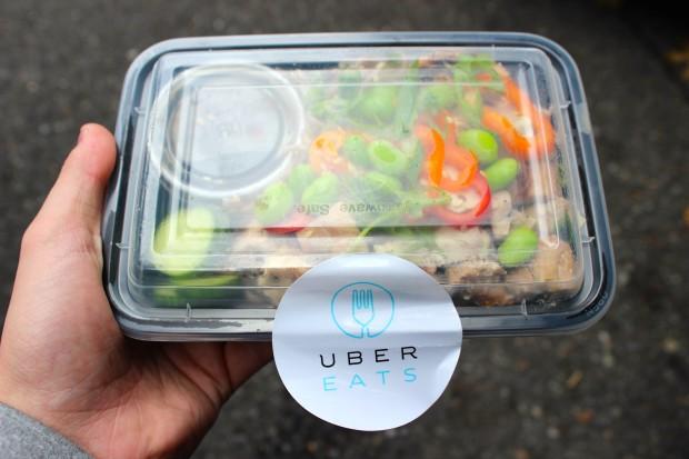 An UberEATS order.