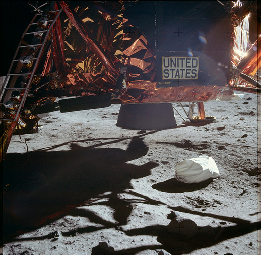 Photo via Flickr/Project Apollo Archive/Apollo 11