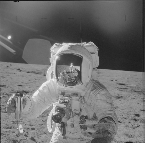 Photo via Project Apollo Archive/Apollo 12