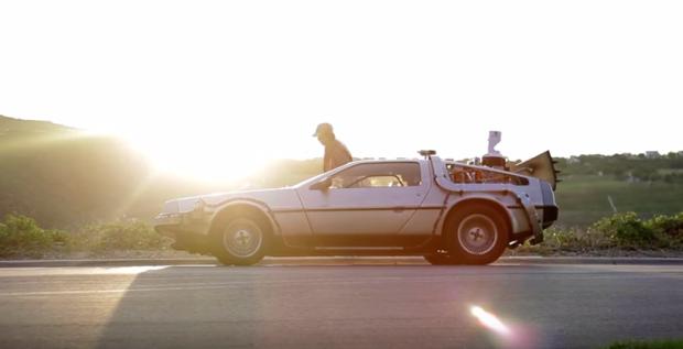 Photo via YouTube/Rent the DeLorean
