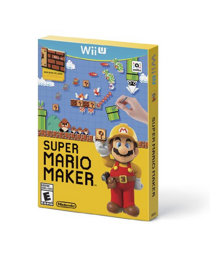 Photo via Amazon's Holiday Toy List/Nintendo's new Super Mario Maker made the cut
