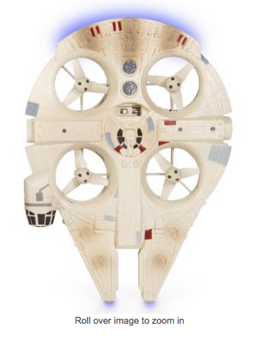 Photo via Amazon/Holiday Toy List/Air Hogs Star Wars Remote Control Ultimate Millennium Falcon Quad