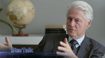 Photo via StarTalk/Bill Clinton