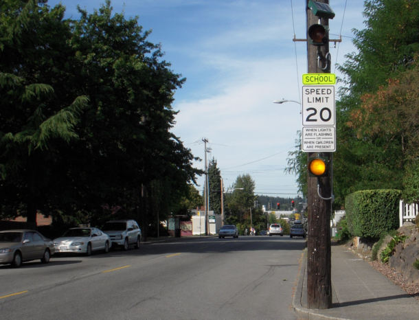 Photo via Seattle Department of Transportation/School Zone
