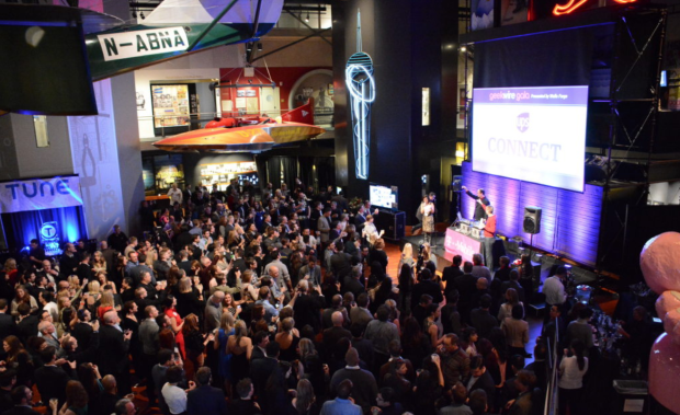 The GeekWire Gala at MOHAI draws hundreds of tech leaders