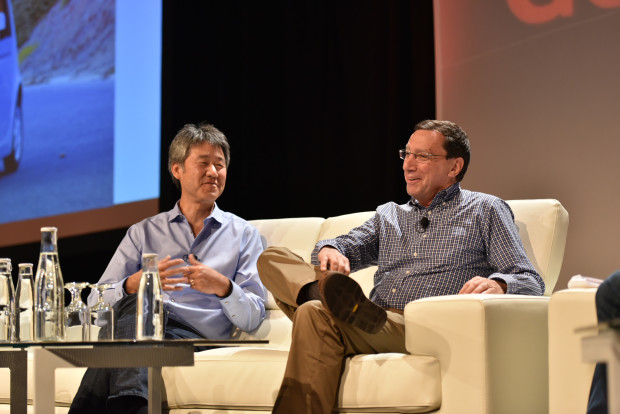 Peter Lee, left, and John Markoff