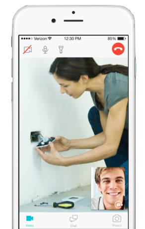 The Fountain app connects homeowners with experts over video chat.