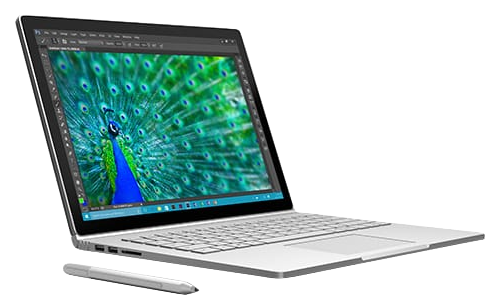 surface book side