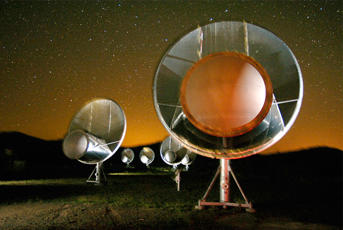Allen Telescope Array antennas