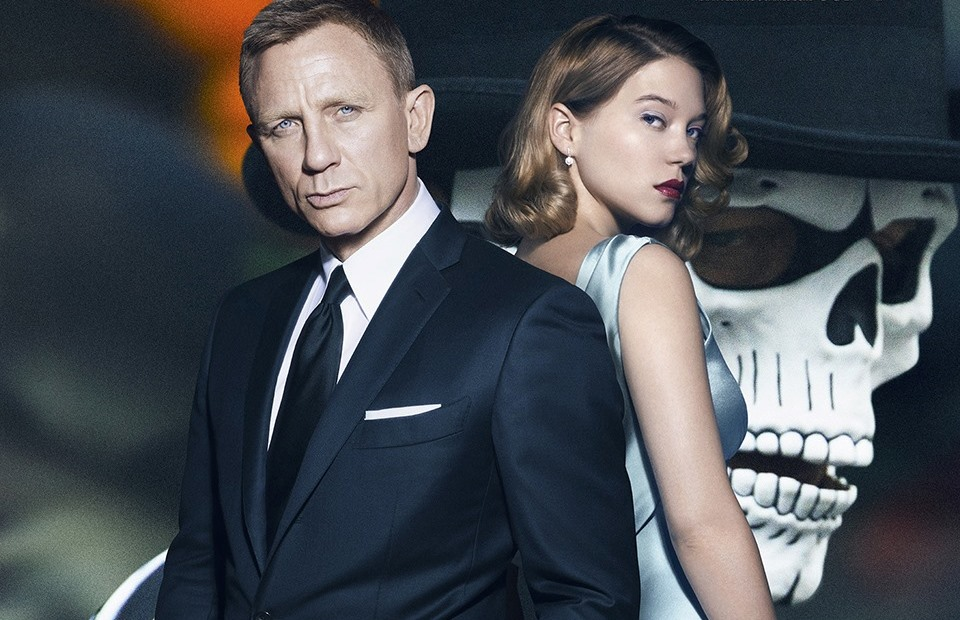 "Daniel Craig and Lea Seydoux star in ""SPECTRE,"" the latest James Bond movie."