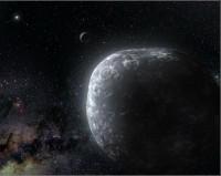 World at solar system's edge
