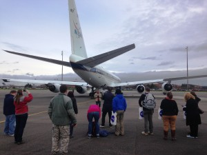 DC-8 at Joint Base Lewis-McChord