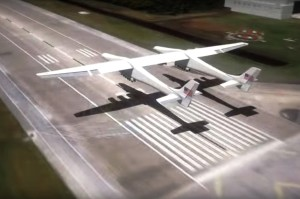 Stratolaunch landing