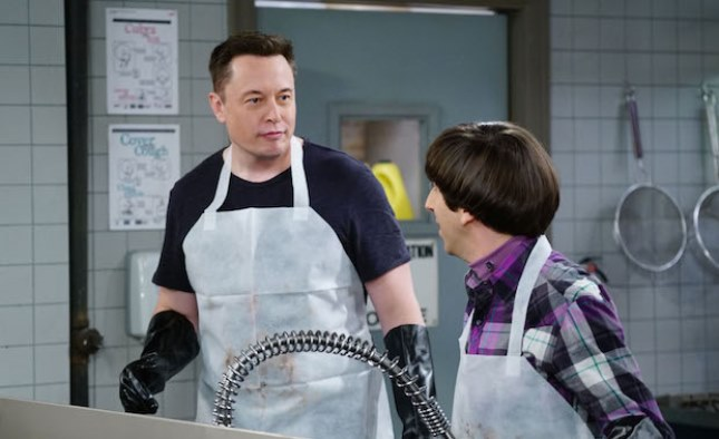 "Elon Musk on ""The Big Bang Theory"""