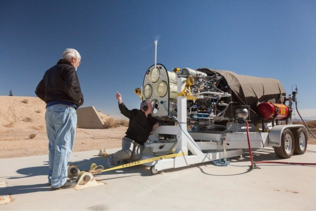 Image: Engine test