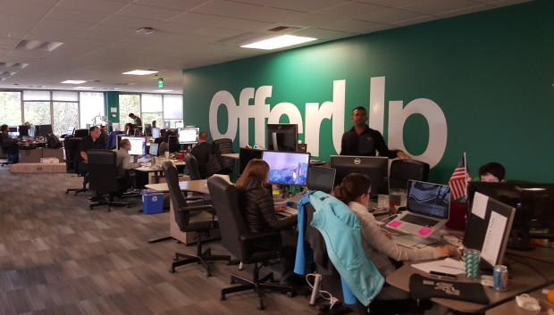 OfferUp office in Bellevue, Wash.