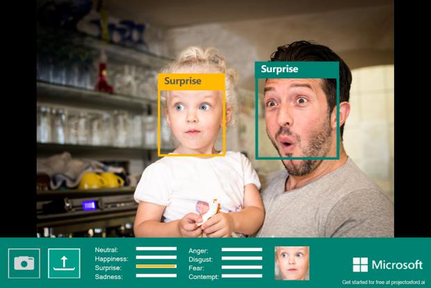 Microsoft's new emotion-sensing platform.