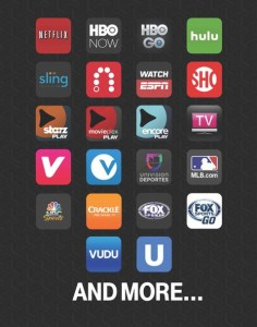 Video apps T-Mobile customers can stream for free.
