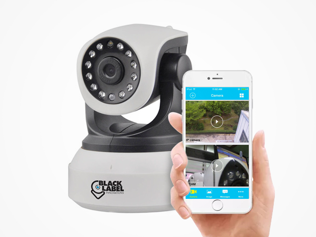 Black Label Innovations HD Wi-Fi Security Camera