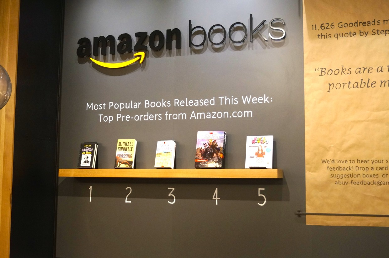 here s why amazon is building brick and mortar grocery stores amazon continues physical retail push with new bookstore in washington d c its 13th nationwide