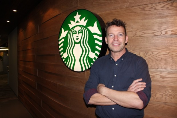 Kelly Smith, VP of Digital for Starbucks China.