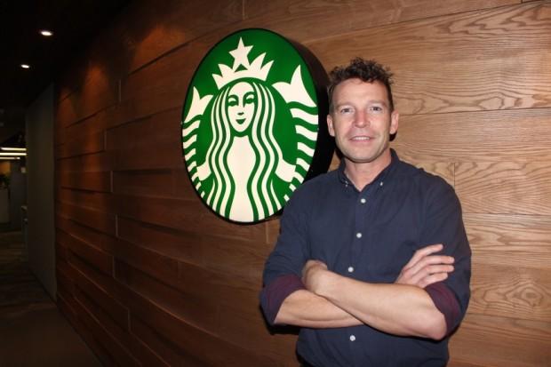 Kelly Smith, VP of Digital for Starbucks China.