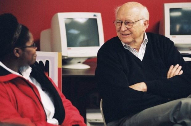 Bill Gates Sr. at a Seattle event for the nonprofit group City Year in March 2002. Photo: Bill & Melinda Gates Foundation.