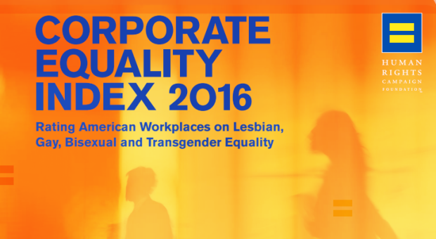 Photo via Corporate Equality Index report 2016