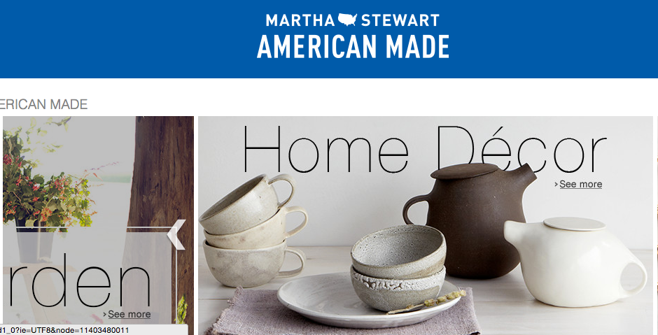Photo via Amazon/Martha Stewart American Made