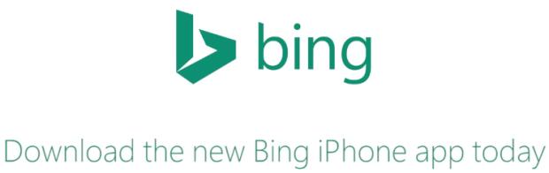 Bing iPhone app