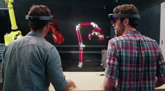 Microsoft and Autodesk are working together to build industrial design software for the augmented reality headset.