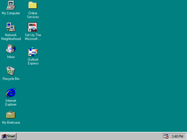 Windows 95 was the first OS to run Internet Explorer.