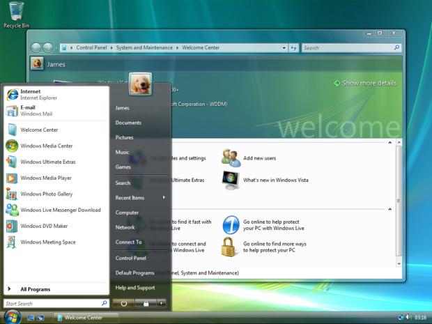 Windows Vista. Image via Microsoft/Wikipedia