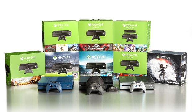 The Xbox One holiday bundles for 2015
