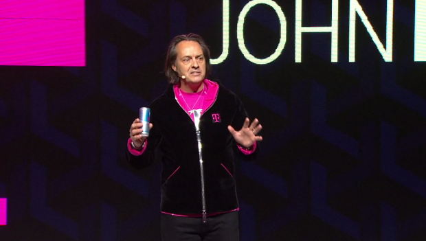 T-Mobile CEO John Legere. (Credit: T-Mobile.)