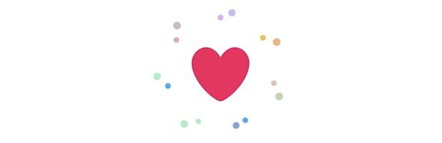 likes hearts twitter